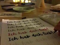 Groß und Klein - Schriftübungen